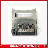 Wholesale 10pcs TF Card Holder Slot Tray Reader Flip Type Card Slot
