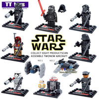 bb lot - Star Wars Minifigures D867 The Force Awakens Kylo Ren BB Building Block Set Models Action Figures Toys For Children