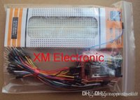 Wholesale 3 V V MB102 Breadboard power module MB points Prototype Bread board for arduino kit jumper wires A5