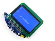 Wholesale 3 V Graphic Matrix LCD Module with x64 dots and ST7920 ST7921 IC TN STN Blue Backlight White Character