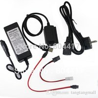 Wholesale New USB to IDE SATA Hard Drive HD HDD Converter Adapter FOR DVD NOTEBOOK LAPTOP HDD