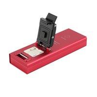 Wholesale test fixture solutions eMMC Extractor reader programmer BGA169 Socket USB Solution_14X18mm_Perform eMMC Socket with USB eMMC adapter