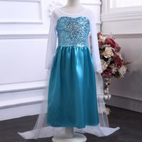 Cheap Frozen Princess dress Best Children Dresses