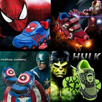 Wholesale Children s Shoe New Autumn Iron Man Spiderman Flasher Fashion Sports Sneakers For Kids Boy Sport Brand Shoes Boys Girls