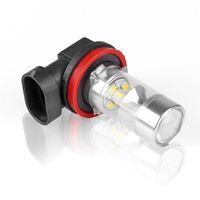 auto drive cars - Car Auto H4 H7 H8 H HB4 W White SMD LED Driving Headlamp Fog Light Spare Bulb V