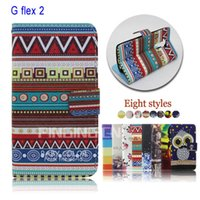 Cheap For LG wallet case for LG G Flex 2 Best Leather mix colors for LG case