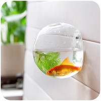 glass fish bowl - Home decoration glass vases wall hanging decorative vases fish bowl Aquarium fish tank jar flower vases vaso