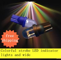Wholesale 20X T10 LED Bulbs with Wedge Base for Dashboards Gauge bulbs E10 LED