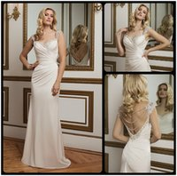 alexander design - Justin Alexander New Design Mermaid Wedding Dresses Sexy Back Beaded Ruched Satin Sweetheart Bridal Gowns Custom For Bride
