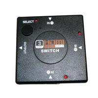 3 port hdmi switch HDMI 1.3 2015 Sale Hot Sale 3 Port Hdmi Switch 1.3 Female-female Non-shielded Sata Usb Mini 3 Port Hdmi Switch Switcher Splitter for Hdtv 1080p Video