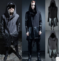 alternative skin - Fall fall and winter clothes new alternative nightclub fight skin sleeve windbreaker jacket male hip hop show