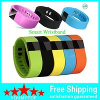 Wholesale TW64 Smartband Smart sport bracelet Wristband Fitness tracker Bluetooth fitbit flex Watch for ios android xiaomi mi band Newest