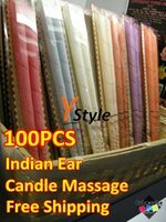 Wholesale Ear Candle Ancient Indian Health Care Candling Good to Skin Body A Drop Shipping