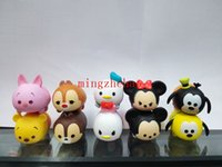 Wholesale 2016 New Arrive Set Tsum Tsum Mini Minnie Mickey PVC Action Figures Toys For Kids Brithday Gifts