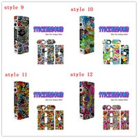beautiful labels - Stickerbomb Skin for Kanger Subox Mini Sticker Subox Mod Sticker Vape Box Wrap Skin Vaporizer Mod Sticker Beautiful label stickers