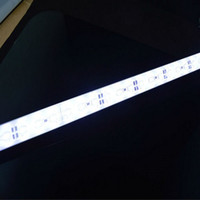 Wholesale Hard LED Strip SMD Rigid Bar LEDs LED Light DC V Pure White k Clear cover high bright led strip