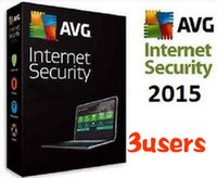 Wholesale 24h sent Brand New AVG Internet Security Antivirus Software Years PC user keys multi languages