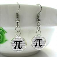 art mathematics - HE82 PI Earrings Math Jewelry Teachers Science Mathematics Symble Black and White Art Charm