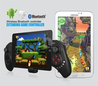 Wholesale Wireless Bluetooth Gaming Game Controller Ipega PG Telescopic Gamepad Joystick for iPhone iPod iPad Samsung HTC Android IOS Tablet PC