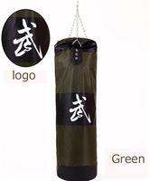 Wholesale 100cm MMA Thai Sanda Boxing Hook Hanging Training Fitness Kick Punching Bag Sandbag Empty