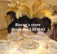 feathers - prices quot quot inches black or golden ostrich feathers for Wedding Birthday Christmas Decorations