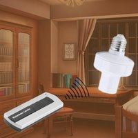 Wholesale Intelligent E27 Wireless Remote Control Light Lamp Bulb Holder Cap