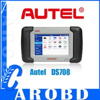 For BMW maxidas ds708 - Original Autel MaxiDas DS708 ds708 automotive diagnostic system Multi language Automotive All Electronic System Scanner Online Update