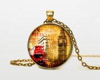 london necklace - Old London pendant London necklace