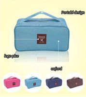 Wholesale 2015 New Travel multi function The bra package Underwear package Portable toiletry bags Cosmetic bag many colrs available