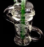 glass products - 2015 new limited edition starbucks glass water pipes glass oil rig glass bongs All products can be customized