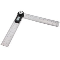 Wholesale 2 in MM Degree Lcd Digital Angle Finder Ruler Protractor order lt no track