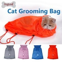Wholesale DogLemi Professional Pet Cat Grooming Bag Cat Restraint Bath Bag sizes