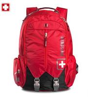 Wholesale Swisswin fashion women backpack outdoor travel bag waterproof big capacity sport female storage bags sw9176