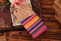 For Apple iPhone Plastic Customize Credit Card Slot Wood Wooden Grain Aztec Tribe Nation Hard Plastic PC Case For Iphone 6 6G 4.7'' 5.5'' I6 6plus Back Skin cover luxury 10pcs