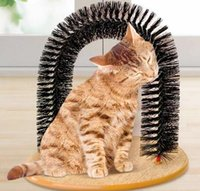 bath bombs - Bath Bombs Hot Sale Rakes Brushes Combs New Purrfect Arch Rub Brush Pet for Cat Door Type Is Scratching Supplies Convenience