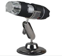 Wholesale F05349 Handheld Endoscope Magnifier Camera LED X USB Digital Microscope With holder stand