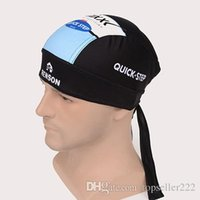 Wholesale 2015 New Arrival Cycling Headband Quickstep Tinkoff And FDJ Men Good Quality Cycling Kit Bike Cycle Head Protector Kit