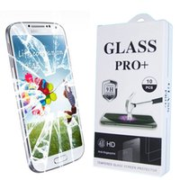 Wholesale 9H Explosion Proof Premium Tempered Glass Screen Protector Film For Samsung Galaxy S4 S5 S6 S7 S7 Edge iPhone SE S s Plus Huawei P7 P6