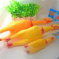 big dog tools - 17cm cm cm Screaming Chicken Squeeze Sound Toy Funny Pets Toy Product Sound Dog Toys Shrilling Decompression Tool