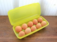 Wholesale Plastic Eggs Storage Box Random Color Plastic Bottle cm Transparent Egg Cans Cereal Storage Container