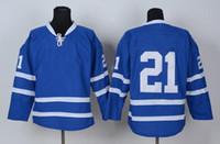 best mens shirt brands - Cheap Hockey Jerseys Blue Ice Hockey Jersey Mens Brand Embroidery Hockey Uniform Kits Best Outdoor Sports Shirts HOT Christmas SALE