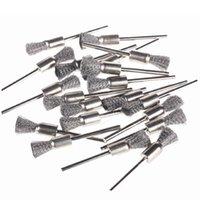 Wholesale 28PCS MM Mini Steel Pencil Brush Dremel Accessories For Jewelry Rotary Tools HB88