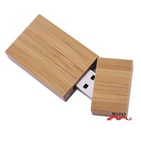 Wholesale Sell Genuine Carbonized bamboo USB2 Drive GB Bamboo Memory Flash Pendrive Brown Good Quality