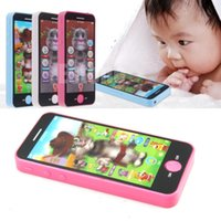 Wholesale B39 Newest Baby Music Phone Simulator Touch Screen Kid Children Educational Learning Toy