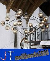 Wholesale 15 Lights Modern Glass Chandeliers Jason Miller MODO Chandelier Droplight Living Room Pendant Lamp Light Lighting For Restaurat MYY9AAA