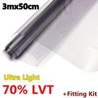 Wholesale 2015 Brand New Ultra Light LVT Car Auto Home Window Glass Tint Film Tinting Styling mx50cm order lt no track