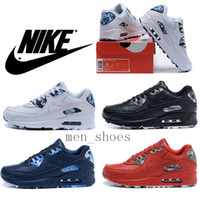 tennis shoes - 2016 Nike Air Max VT Genuine Leather Black Oreo Men Running Shoes Original Quality Camo Tennis Shoes Plus Size With Box