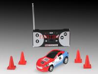 Wholesale Mini Racer Remote Control Car Coke Can Mini RC Radio Remote Control Micro Racing Car Color