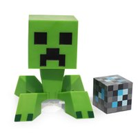 minecraft - Game Minecraft The Player Creeper PVC Action Figure Collection Model Toy