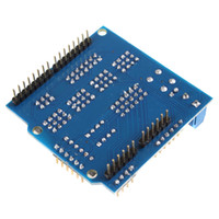 arduino robot - 5pcs V5 Sensor Shield Expansion Board for Arduino Electronic Building Blocks Robot Accessories DBP_203